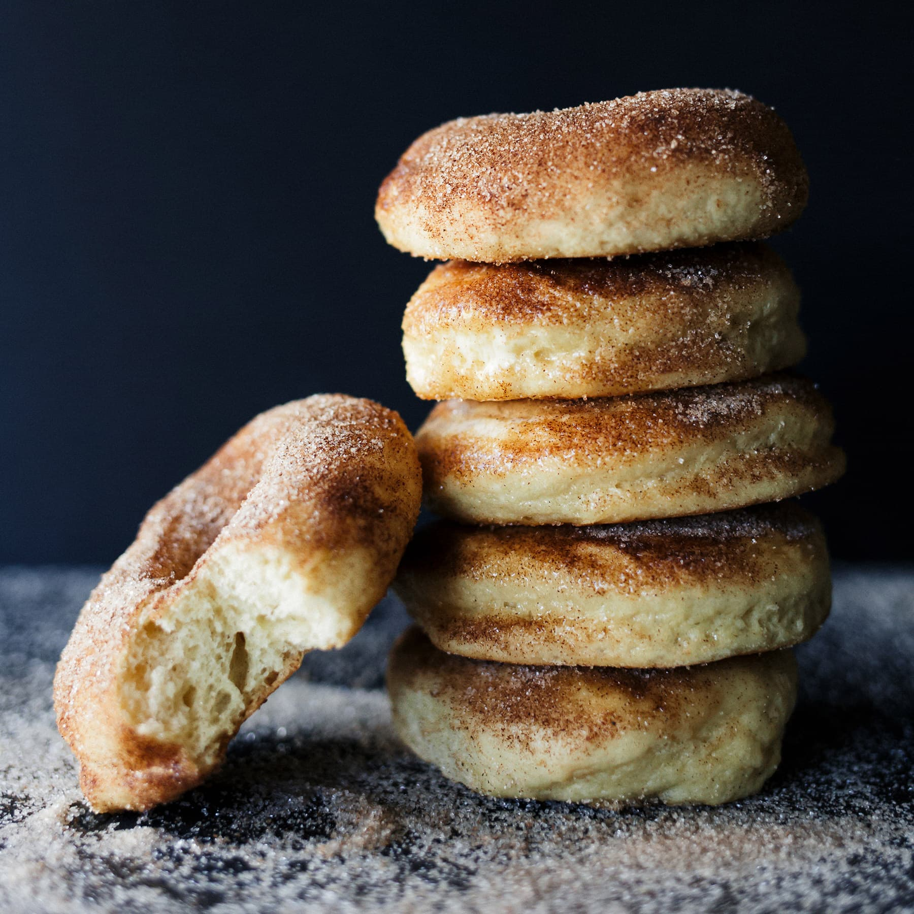 Baked Apple Pie Doughnuts