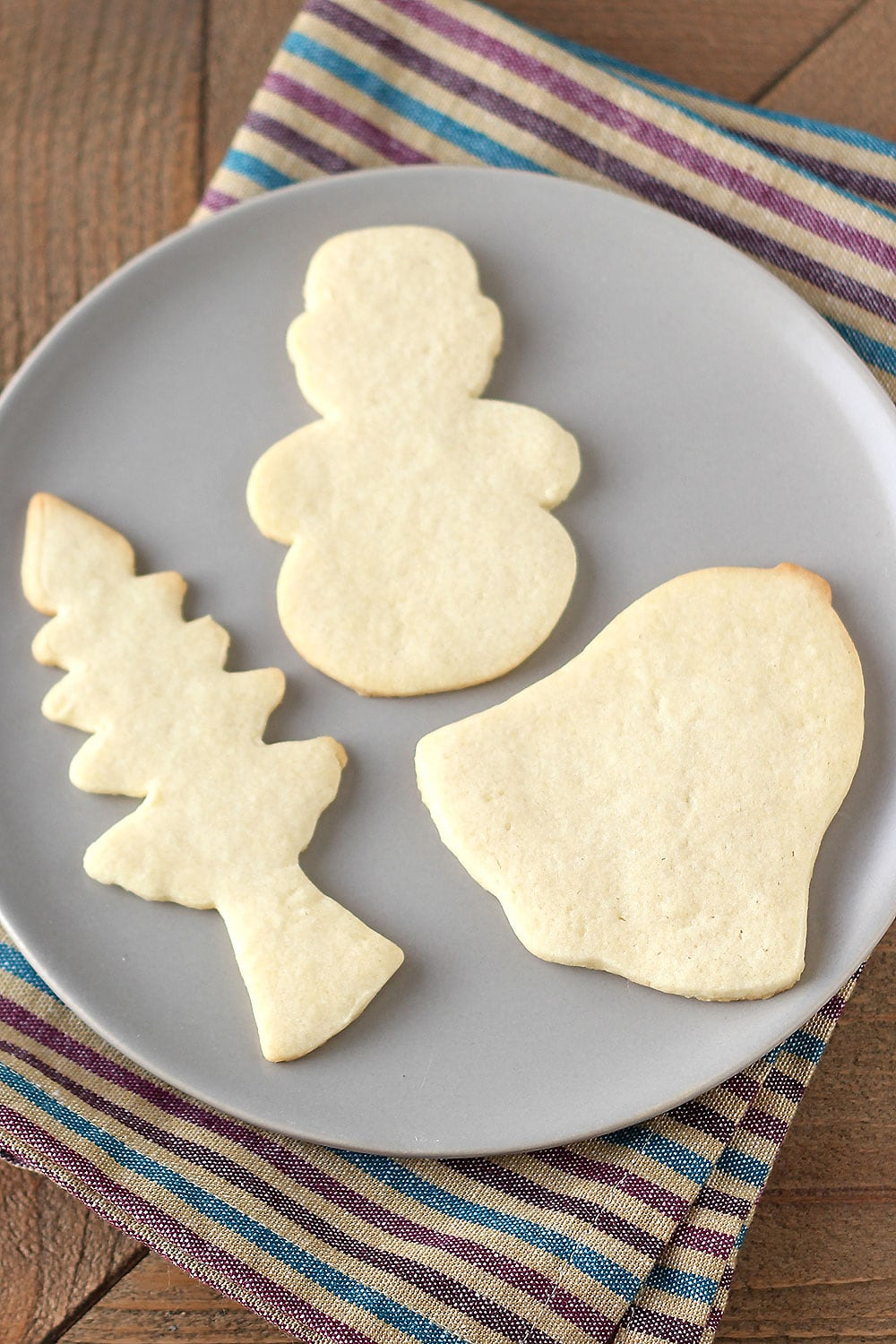 Easy Cut-Out Sugar Cookies are the perfect Christmas cookie recipe! So easy you can make them with your kids.