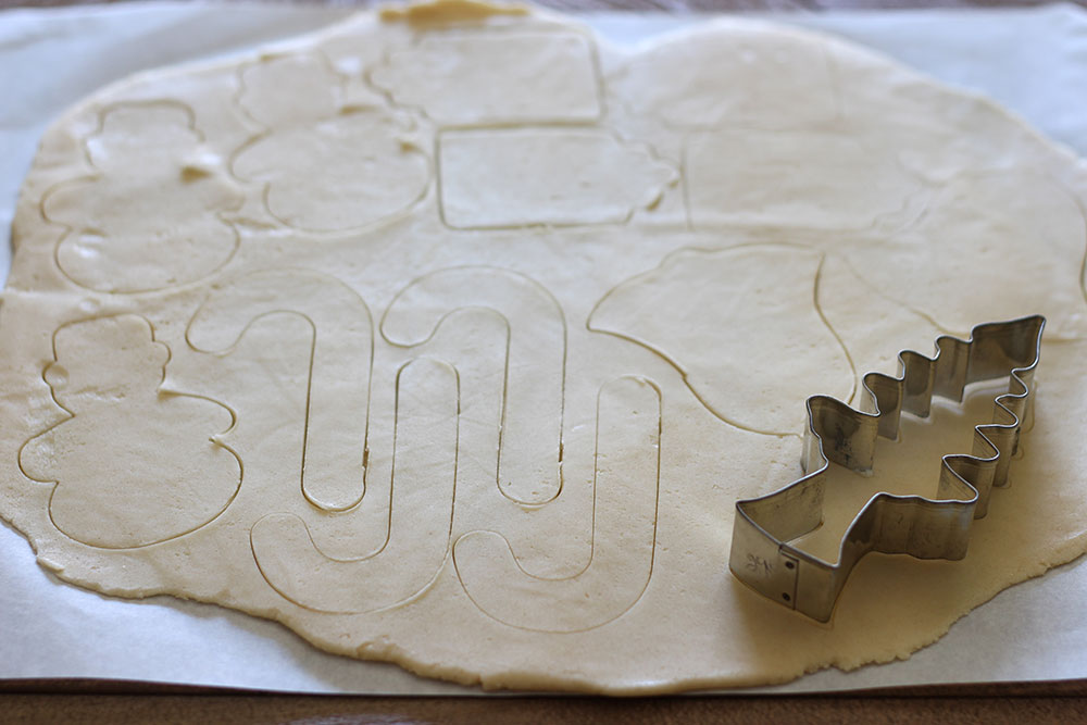 Easy Cut Out Sugar Cookie Dough