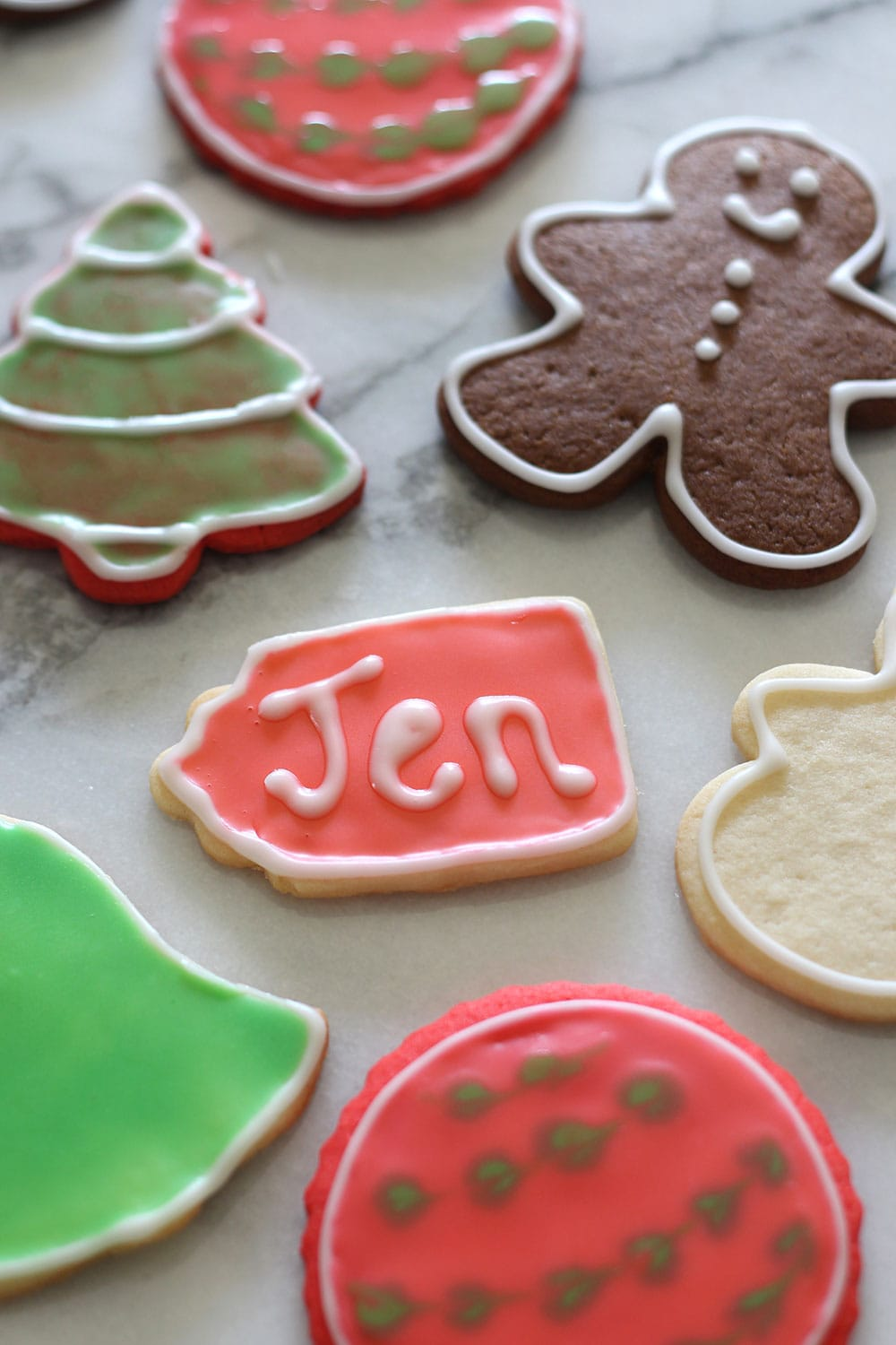 Super quick and easy sugar cookie icing