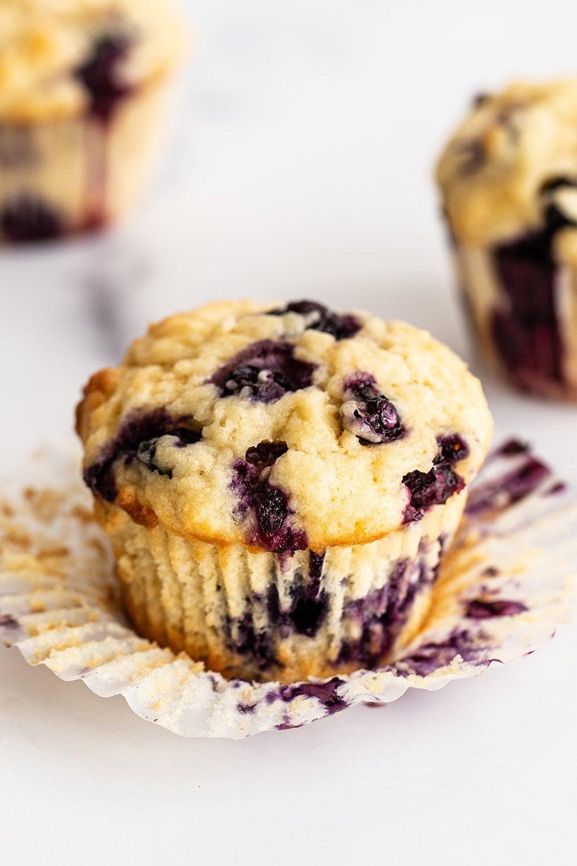 the best moist homemade blueberry muffins