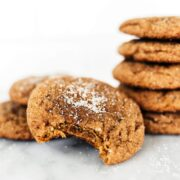 The perfect combination of snickerdoodle and gingersnap, these Gingerdoodle cookies are puffy and soft and filled with warm spices. Cookie baking make-ahead and storage tips included.