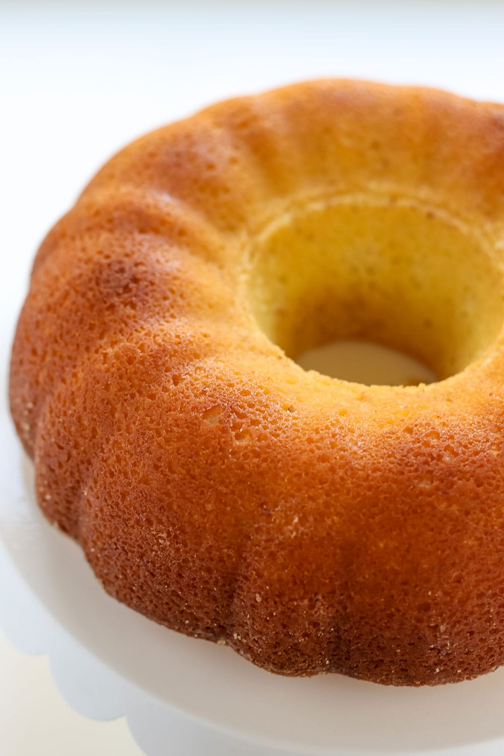 My tips and tricks for How to Prevent Bundt Cake from Sticking, because there's nothing more frustrating than your cake getting ruined because it stuck to the pan!