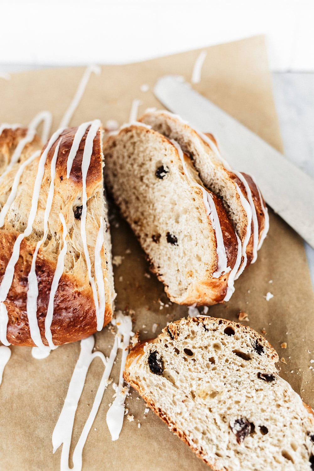This Rum Raisin Bread is beautifully braided and loaded with comforting flavors, making it perfect for the holiday season. A super impressive recipe, but surprisingly achievable!