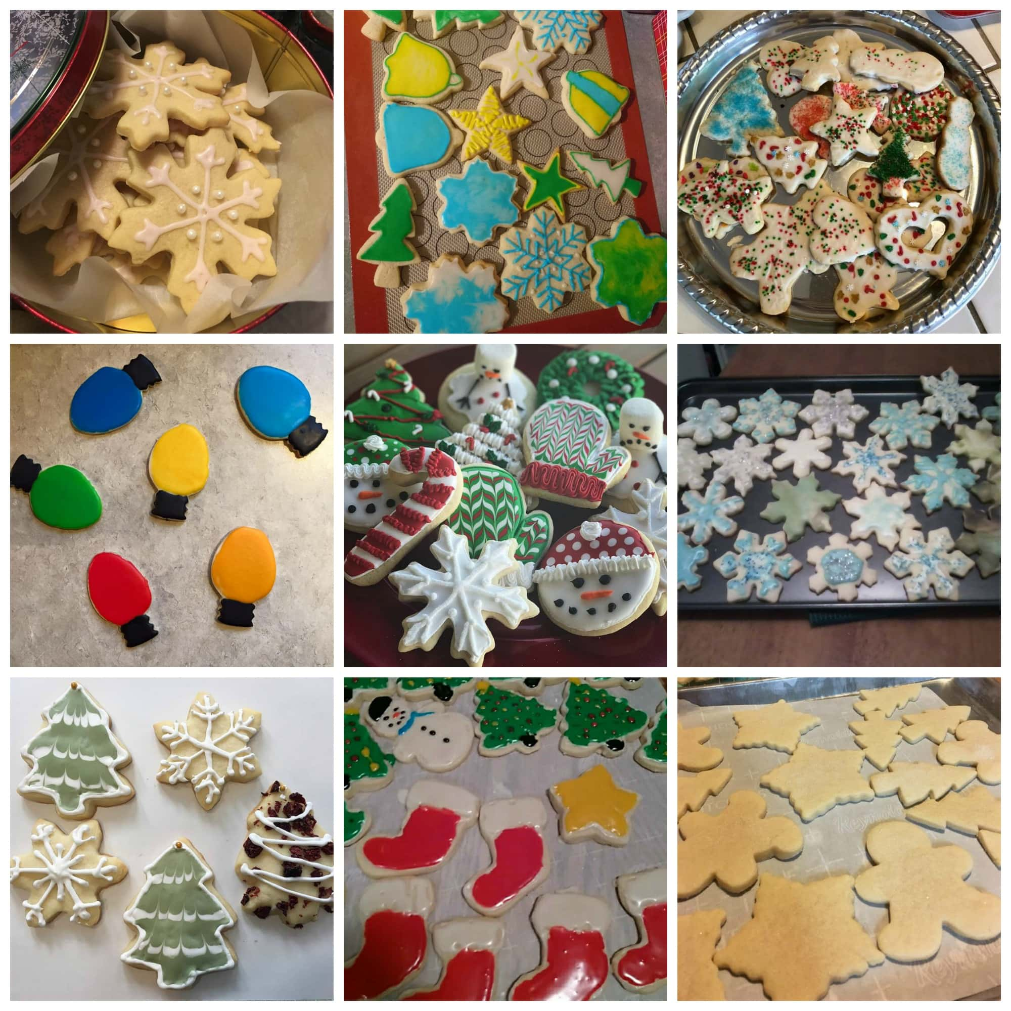 Sugar Cookie Baking Challenge