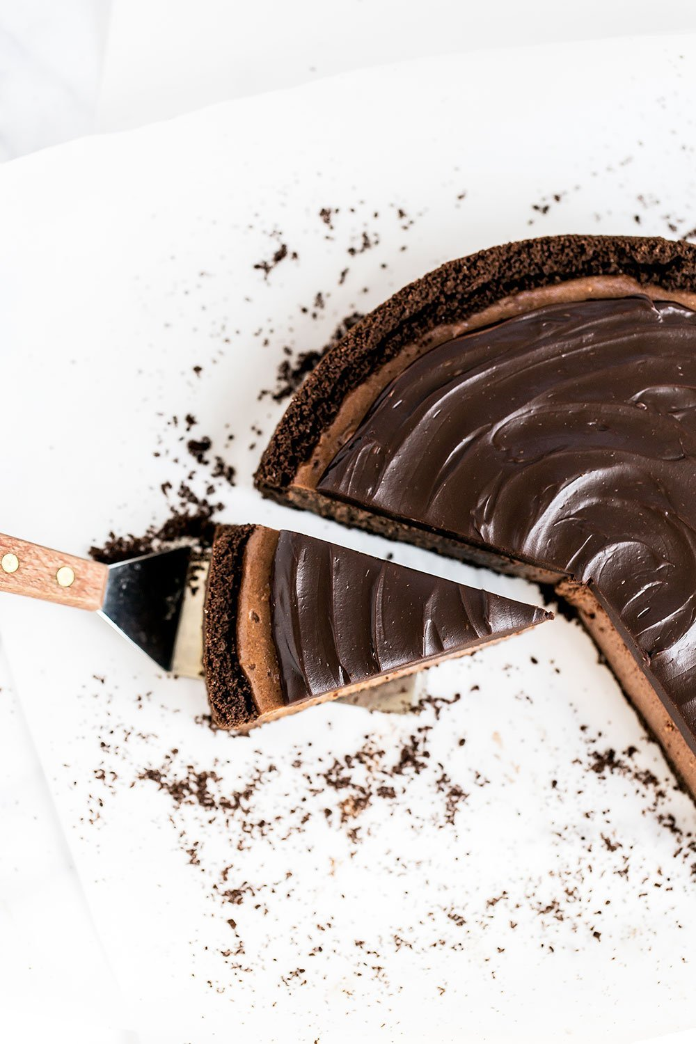 Ultimate Chocolate Cheesecake is for serious chocolate lovers only!