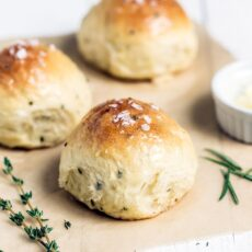 Ricotta Herb Bread Rolls