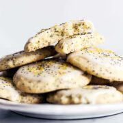 Beautifully bright and refreshing, these Soft Batch Lemon Poppy Seed Cookies are crazy tender and loaded with fresh lemon flavor. Perfect summer cookie!