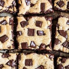 Peanut Butter Chocolate Chunk Bars