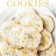 Lemon Poppyseed Cookie