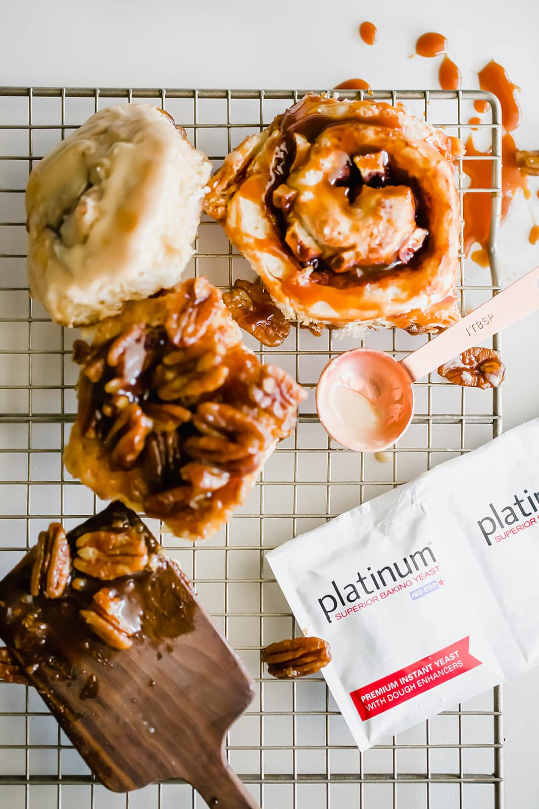 These 3 Easy Cinnamon Roll recipes including caramel apple, banana bread, and sticky pecan are perfect for fall and surprisingly simple to make from scratch!