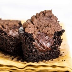 Chocolate Blackout Cupcakes