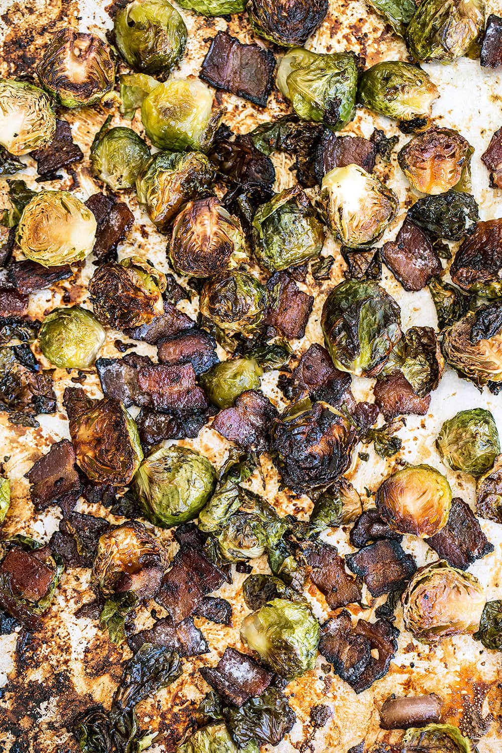 Maple Bacon Roasted Brussels Sprouts for Thanksgiving