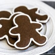 December Baking Challenge Recipe Selection is gingerbread cookies!