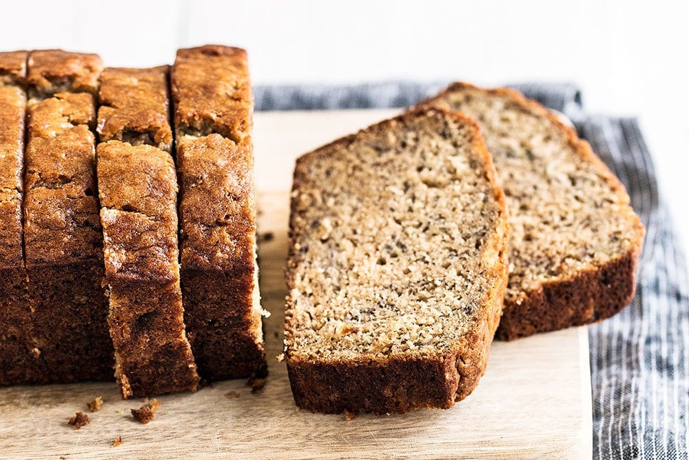 Easy and moist banana bread recipe