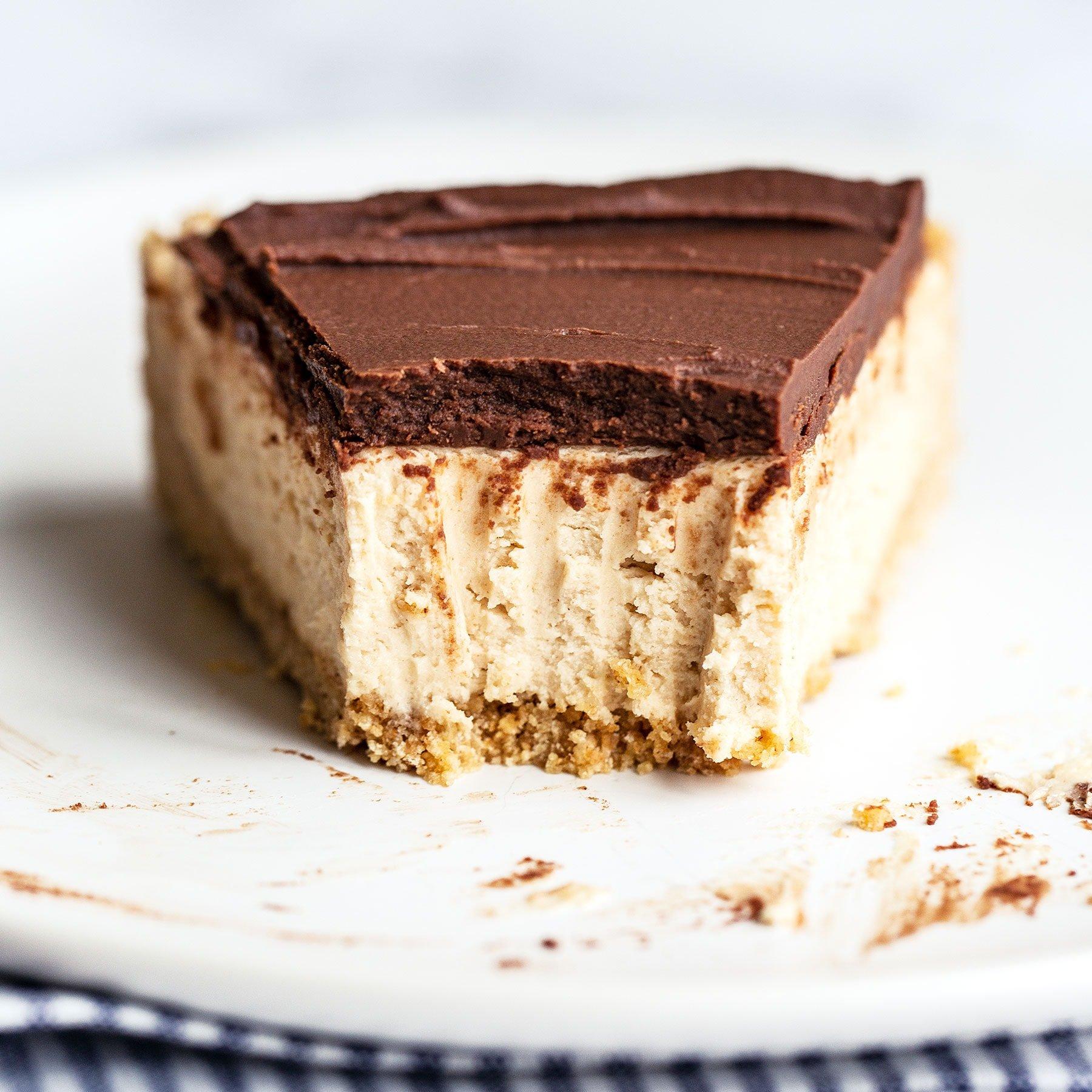 No Bake Chocolate Peanut Butter Cheesecake Handle The Heat