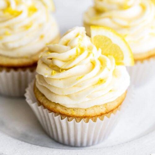Lemon Cupcakes Handle The Heat