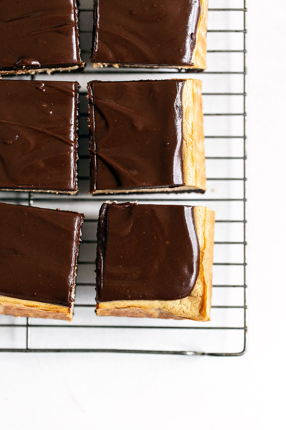 Peanut butter cheesecake brownie squares