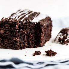 Easy Chocolate Zucchini Cake