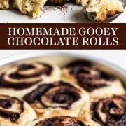 Gooey Chocolate Rolls