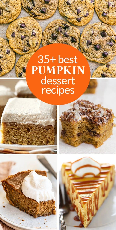 35+ best pumpkin desserts