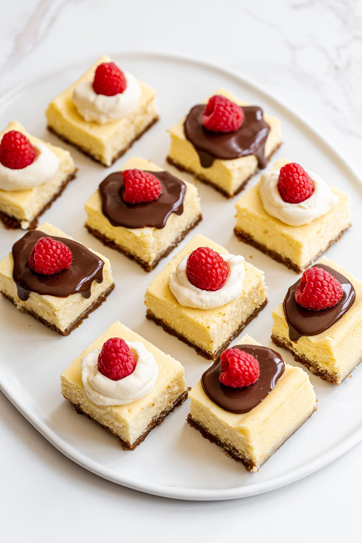 Baking The Best Cheesecake Bars