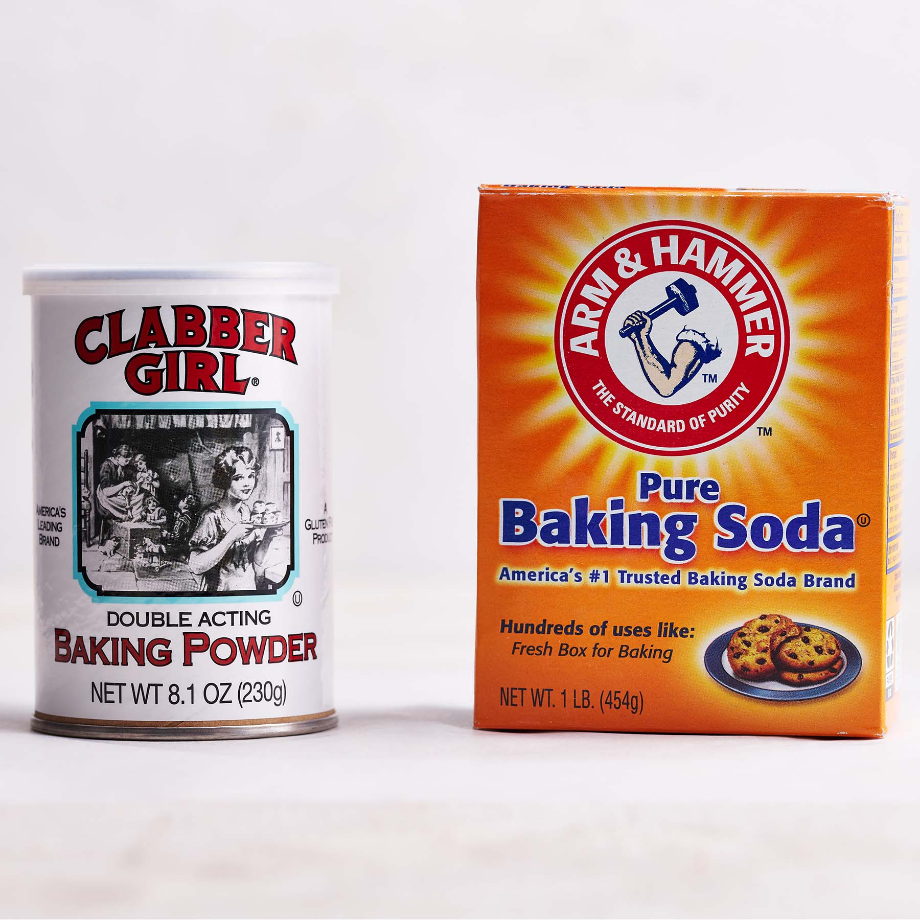 baking powder vs baking soda products
