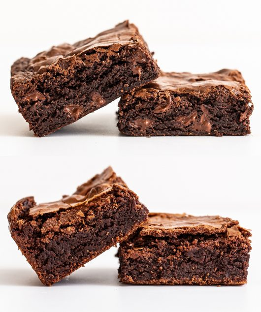 chewy vs fudgy brownie cover photo challenge